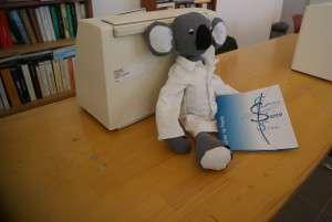 Le centre de santé a déjà sa mascotte: Docteur Koala!